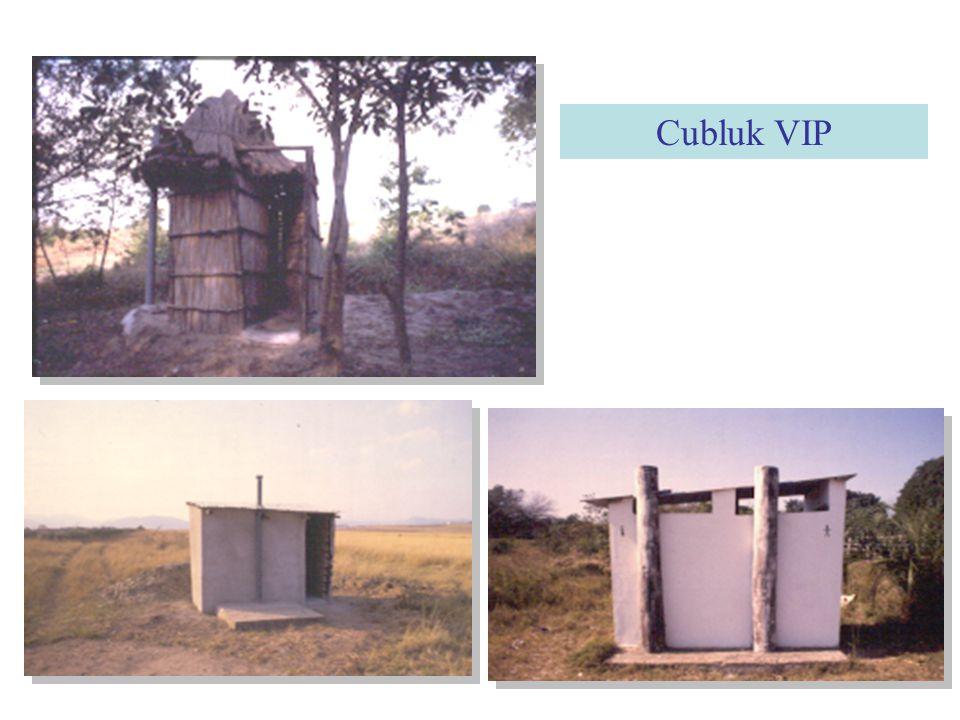 Ventilated Improved Pit Latrine (VIP) Cubluk dengan ventilasi