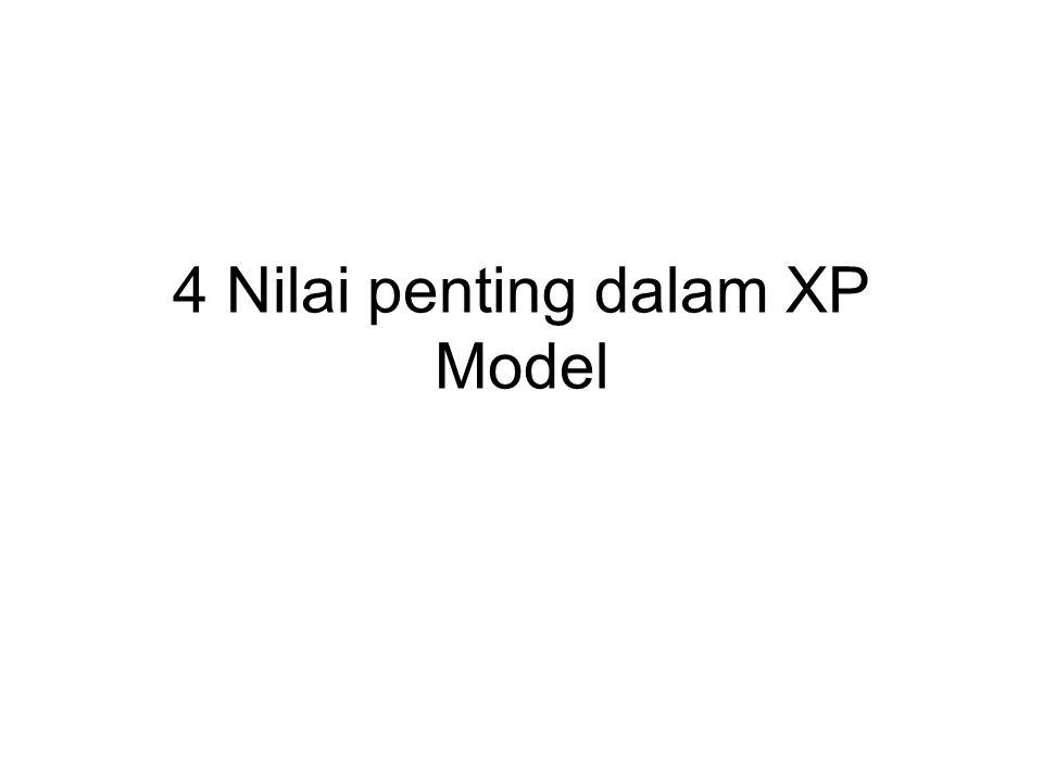 4 Nilai penting dalam XP Model