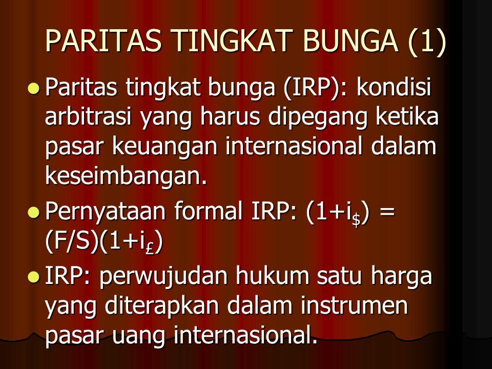 PARITAS DAYA BELI (4) Fakta atas PPP: subyek atas seri2 pengujian, yang menghasilkan secara umum hasil negatif.