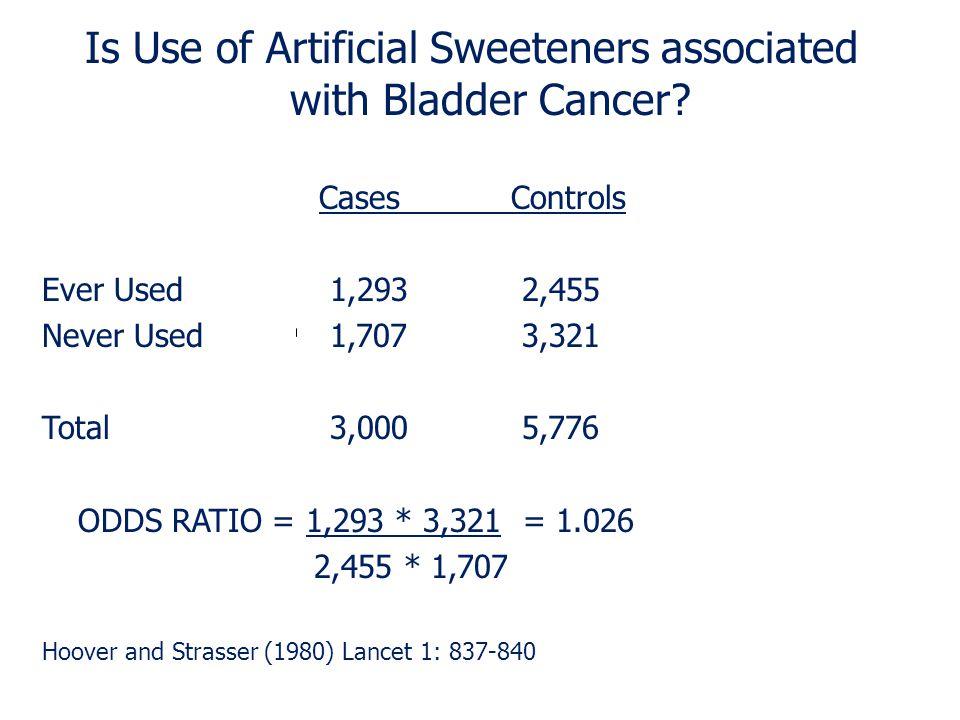 Classic 2 x 2 Table Odds Ratio = a/c = a d b/d b c Disease No Disease Exposure a b No Exposure c d 21