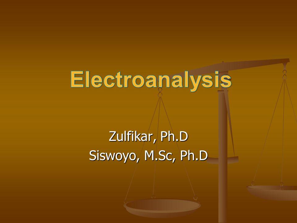 Zulfikar, Ph.D Siswoyo, M.Sc, Ph.D