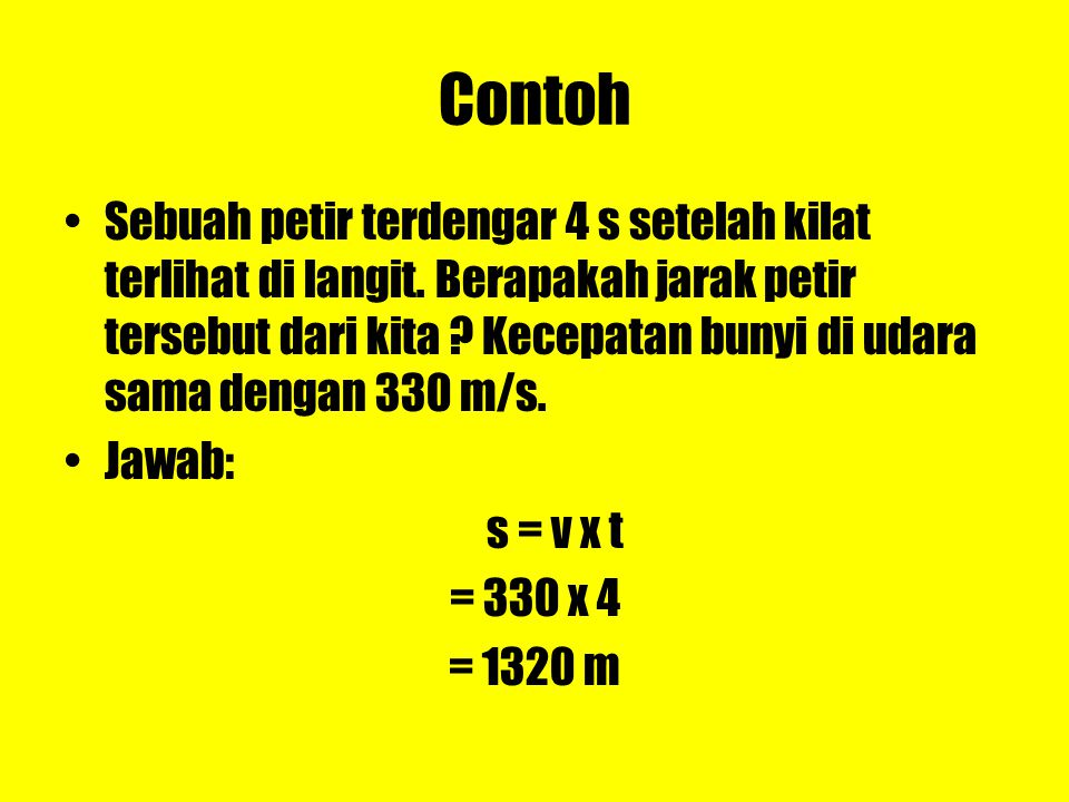 Mengukur Cepat Rambat Bunyi a.Cepat rambat bunyi di dalam zat cair dengan: B =modulus bulk zat cair (N/m 2 )  =massa jenis zat cair (kg/m 3 )