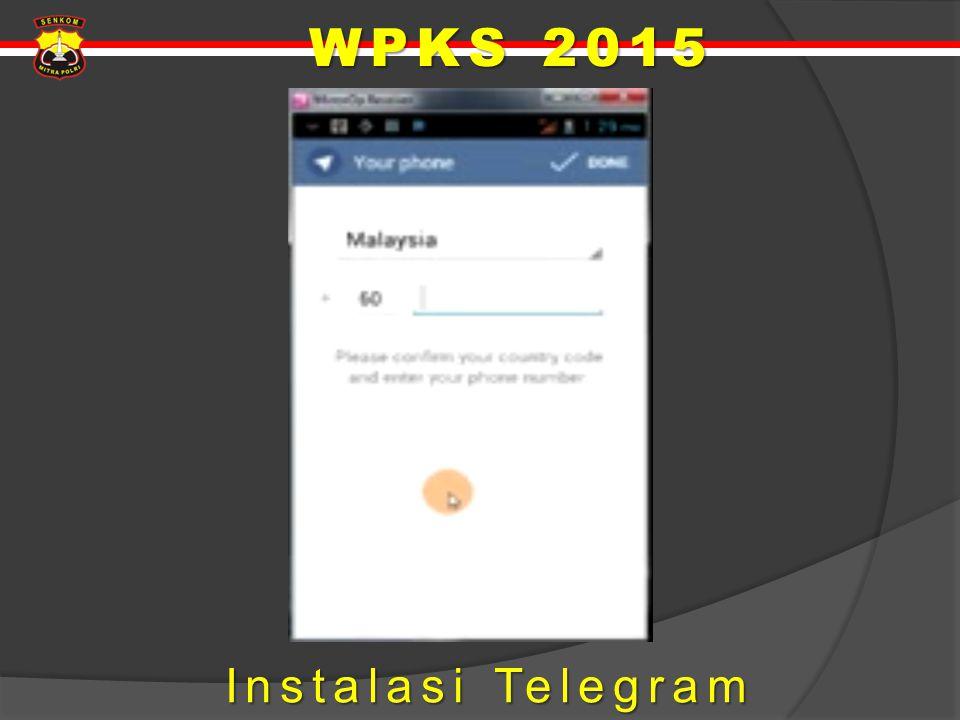 Instalasi Telegram Instalasi Telegram