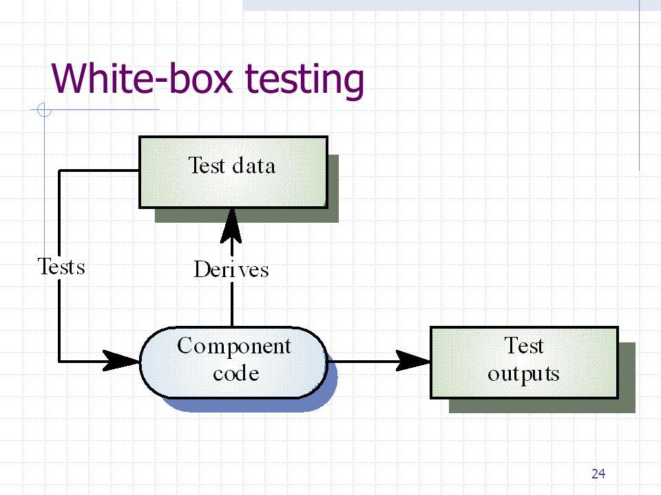 24 White-box testing