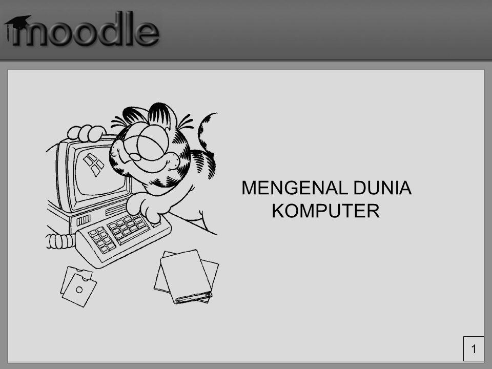 2 to compute : (Latin computare; dari kata COM-, putare´reckon´) = Menghitung komputer secara ejaan dapat diartikan sebagai alat hitung.