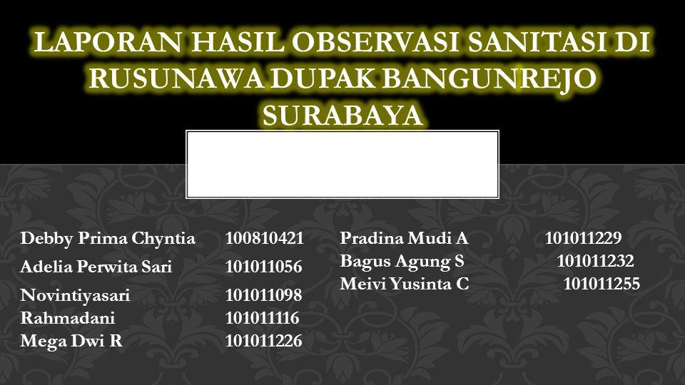 Pelaksanaan observasi dilakukan dalam empat tahap, yakni: Permohonan izin secara informal (pengelola rusun P.