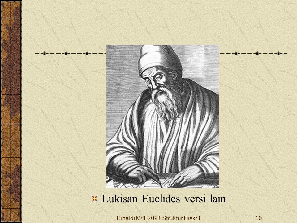 Rinaldi M/IF2091 Struktur Diskrit10 Lukisan Euclides versi lain