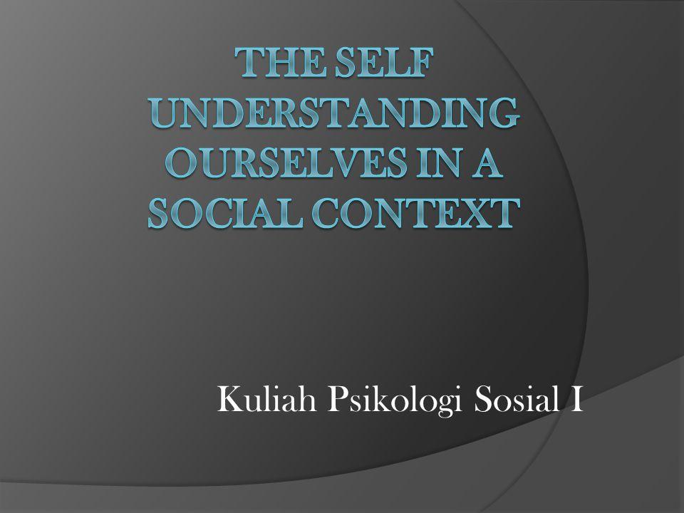 Kuliah Psikologi Sosial I