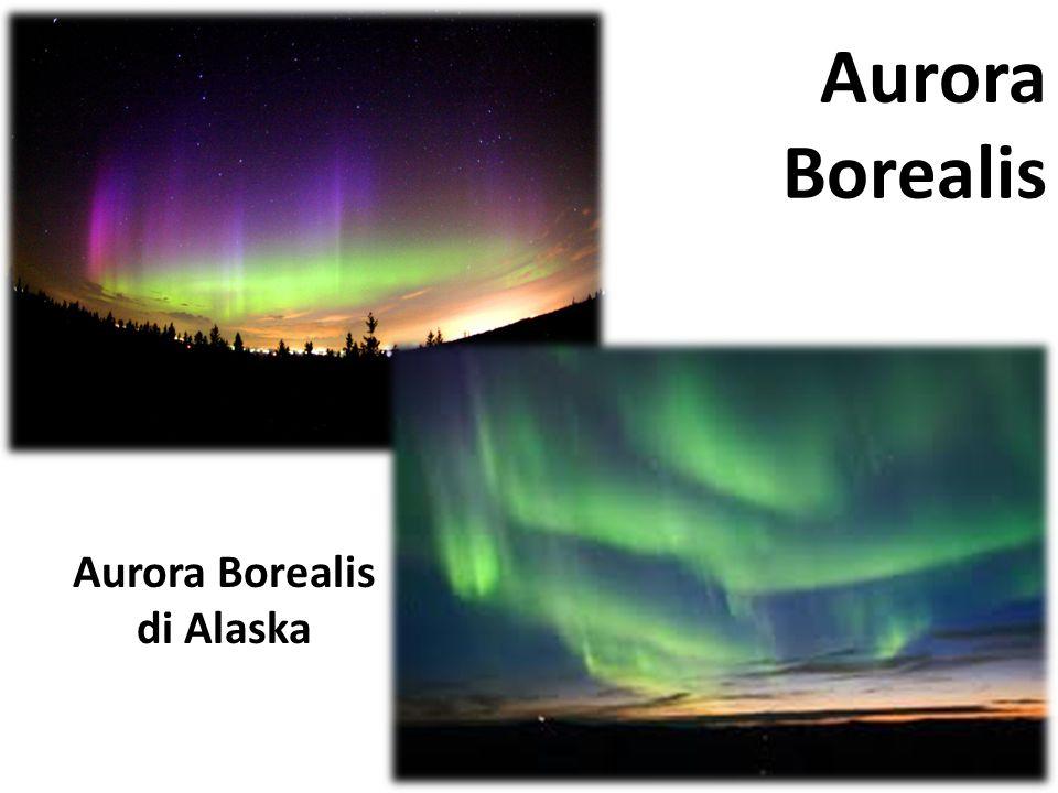Aurora Borealis di Alaska