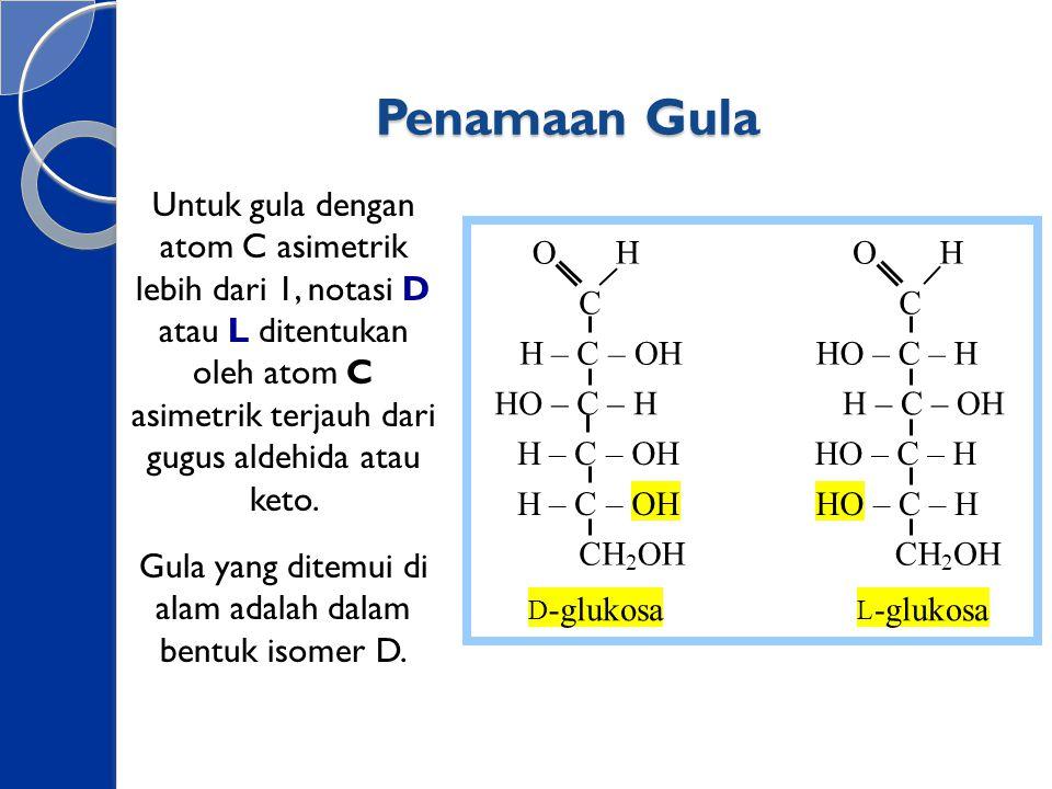 Oligosakarida Oligosakarida adalah polimer dengan derajat polimerasasi 2 sampai 10 dan biasanya bersifat larut dalam air.