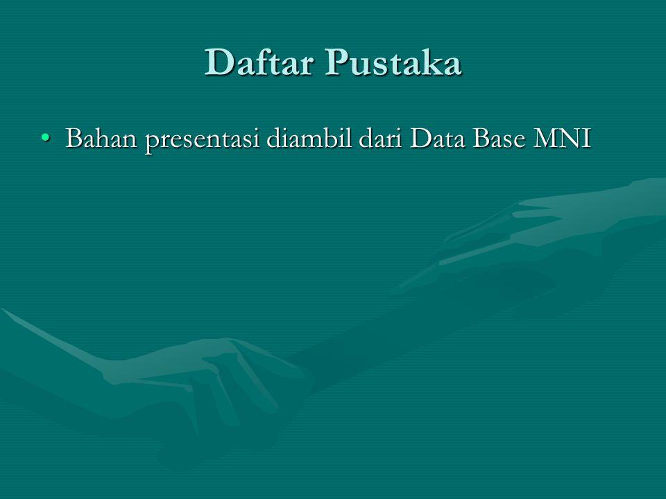 Daftar Pustaka Bahan presentasi diambil dari Data Base MNIBahan presentasi diambil dari Data Base MNI