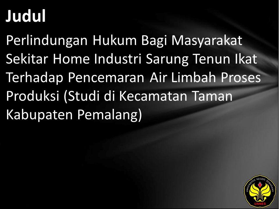 Abstrak ndonesia merupakan Negara yang sedang giat-giatnya membangun untuk meningkatkan pembangunan disegala sektor dengan tujuan untuk kemakmuran rakyat indonesia, Pengusaha atau pelaku usaha memegang peranan yang cukup penting untuk kemajuan bangsa Indonesia dalam sektor perdagangan.