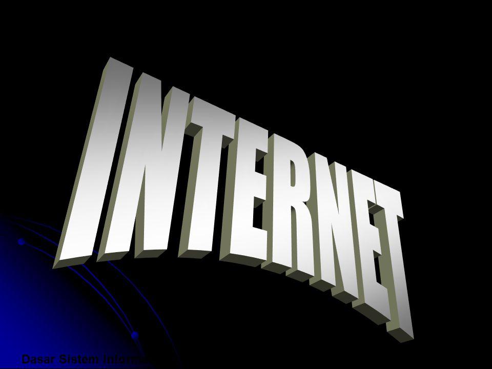 Sekilas tentang internet Internet adalah jaringan terbesar yang menghubungkan jutaan komputer yang tersebar di seluruh penjuru dunia dan tak terikat pada satu organisasi apapun.