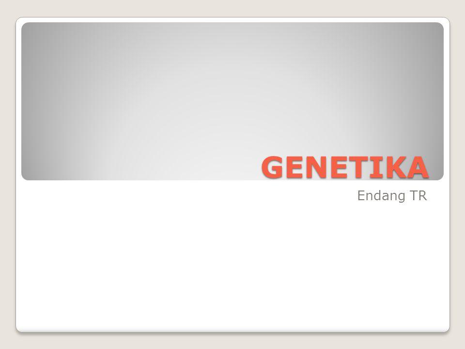 GENETIKA Endang TR