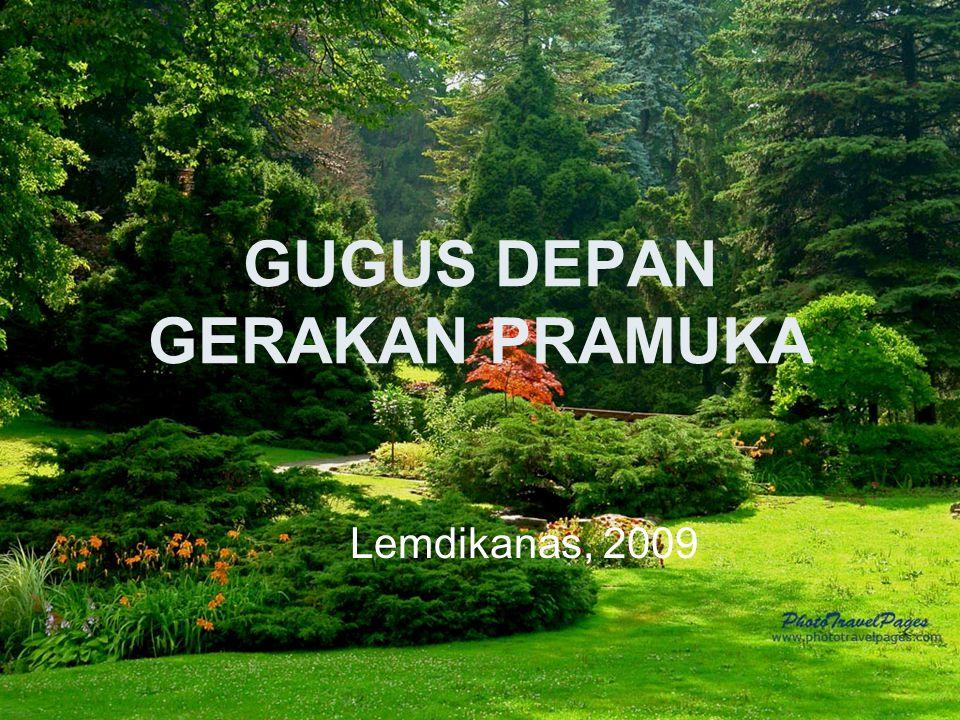 GUGUS DEPAN GERAKAN PRAMUKA Lemdikanas, 2009