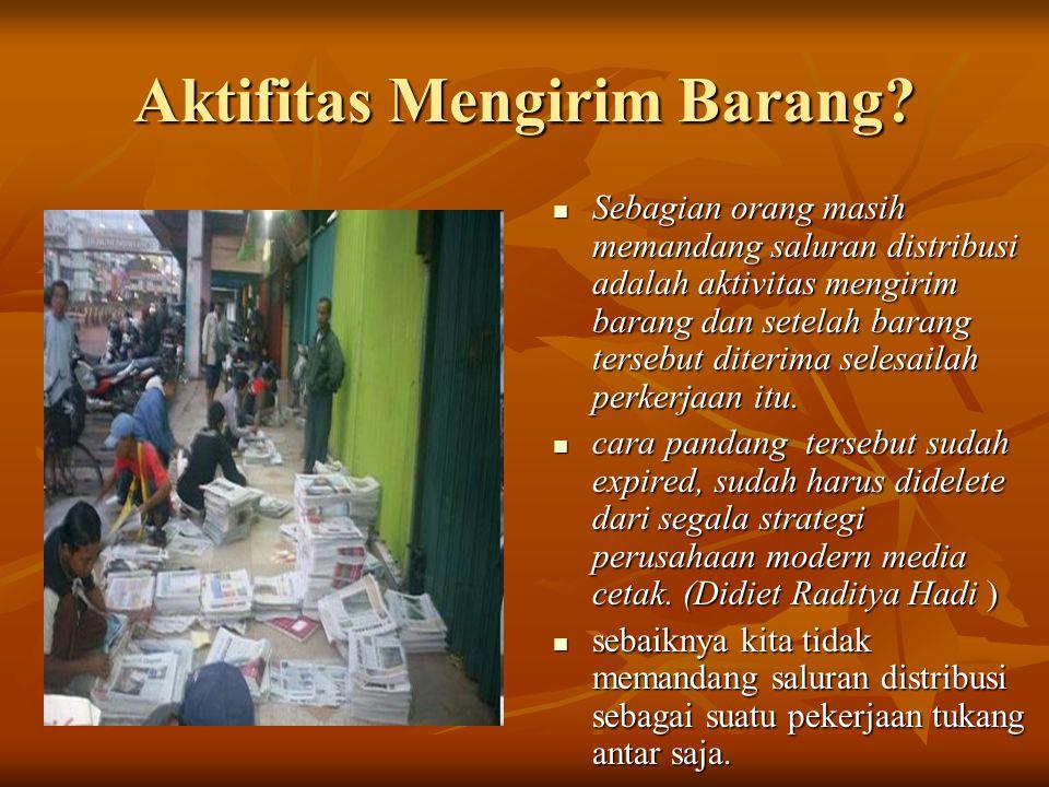 Aktifitas Mengirim Barang.