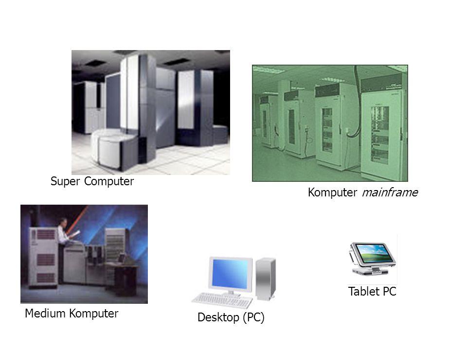 Super Computer Komputer mainframe Medium Komputer Desktop (PC) Tablet PC