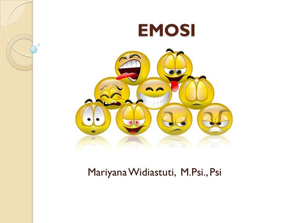 EMOSI Mariyana Widiastuti, M.Psi., Psi