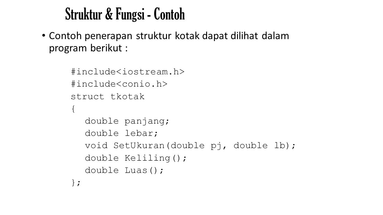 OUTPUT CONTOH 1 The value in x is 25 The address of x is 0x7e00