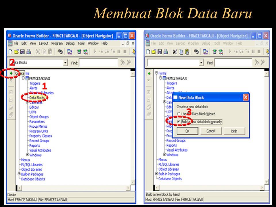 Membuat Blok Data Baru 2 1 3