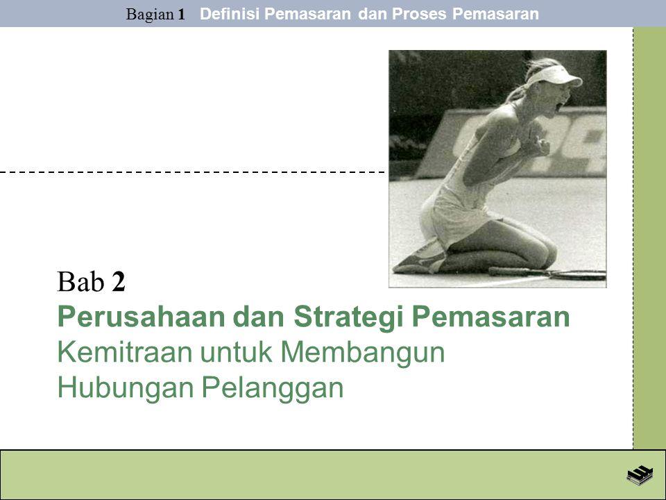 Bab 2 Perusahaan dan Strategi Pemasaran Kemitraan untuk Membangun Hubungan Pelanggan Bagian 1 Definisi Pemasaran dan Proses Pemasaran
