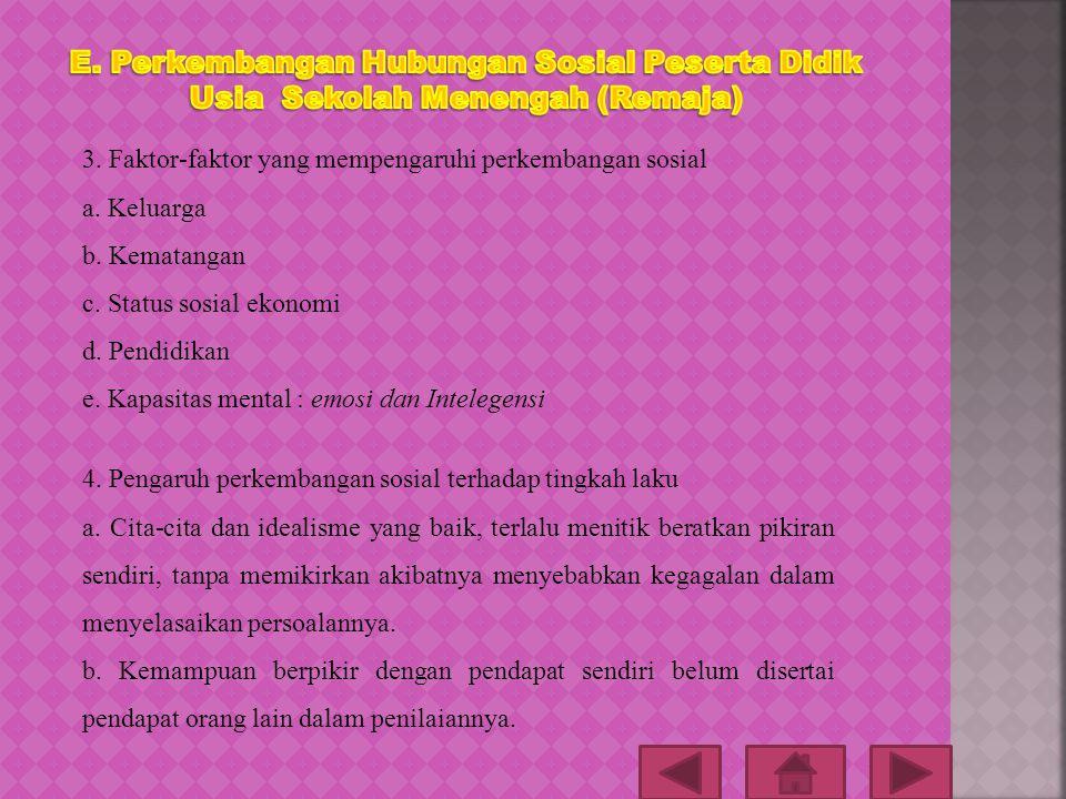 1. Pengertian hubungan sosial Hubungan sosial merupakan hubungan antar manusia yang saling membutuhkan. Hubungan sosial di mulai dari tingkat yang sed