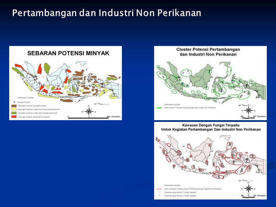 Pertambangan dan Industri Non Perikanan
