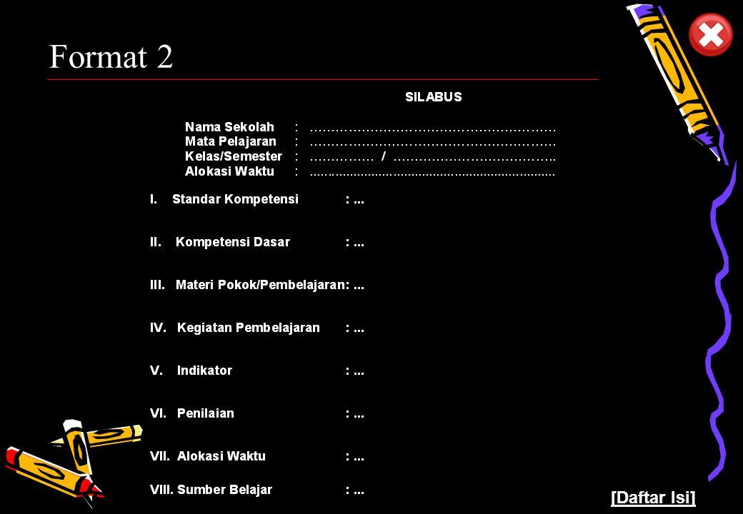 Pusat Kurikulum - Balitbang Depdiknas 10 Format 2 [Daftar Isi]