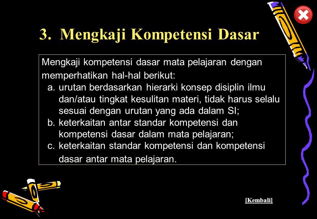 Pusat Kurikulum - Balitbang Depdiknas 27 3.