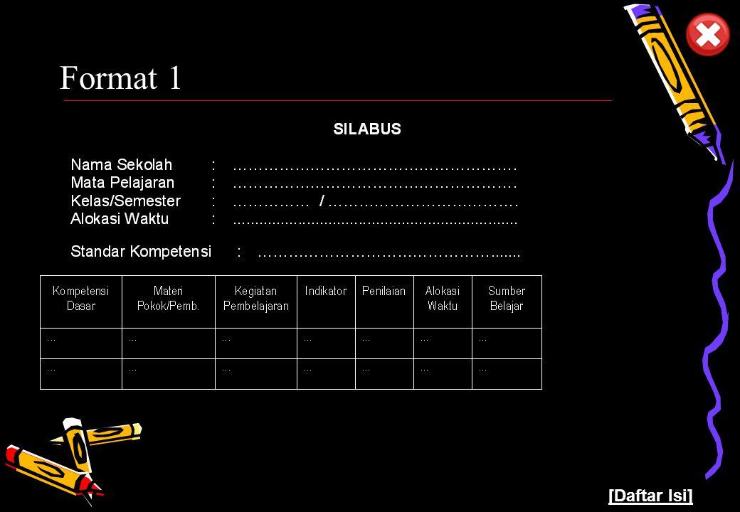 Pusat Kurikulum - Balitbang Depdiknas 9 Format 1 [Daftar Isi]