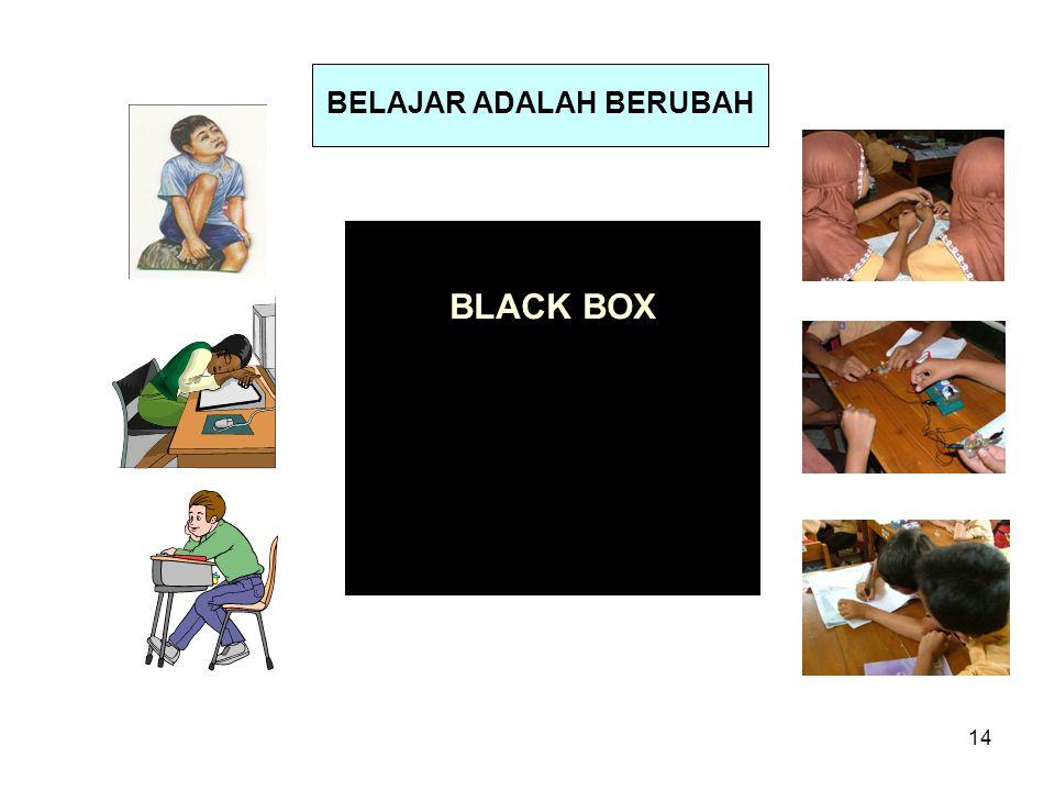14 BLACK BOX BELAJAR ADALAH BERUBAH