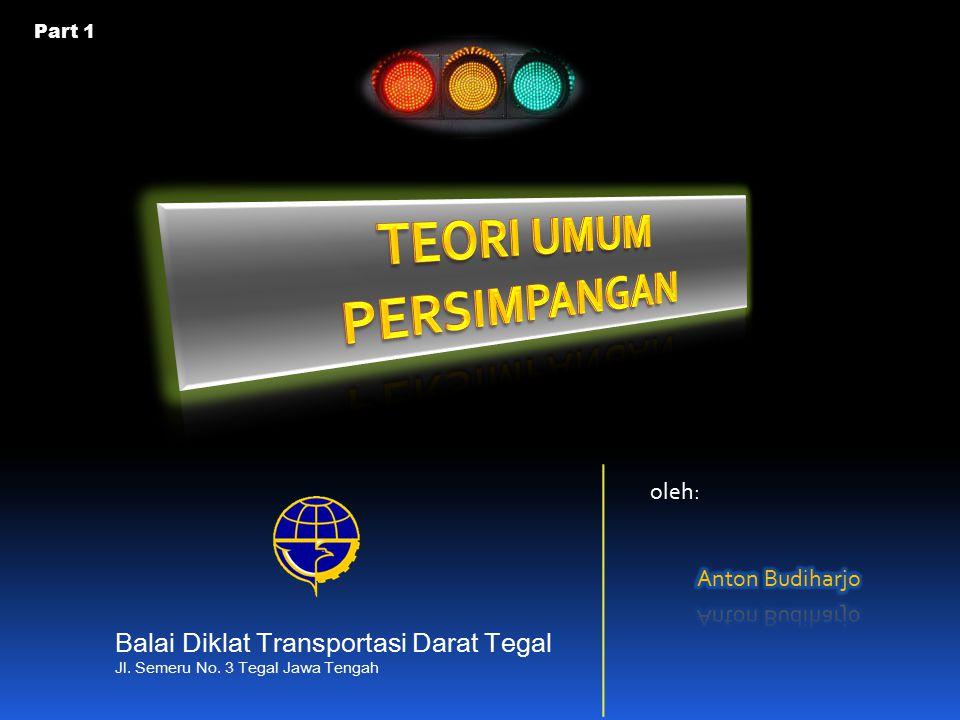 Jenis kendaraan emp untuk tipe pendekat TerlindungTerlawan Kendaraan ringan ()1,0 Kendaraan berat (HV)1,3 Sepeda motor (MC)0,20,4 Satuan Mobil Penumpang untuk persimpangan (MKJI 1997)