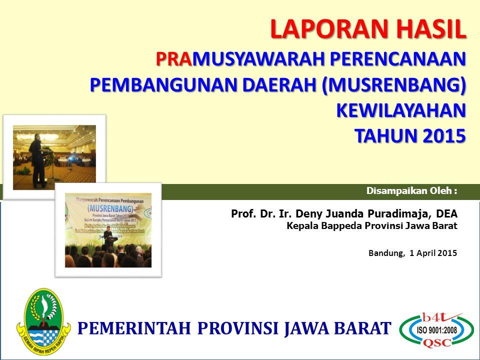 Disampaikan Oleh : Prof.Dr. Ir.
