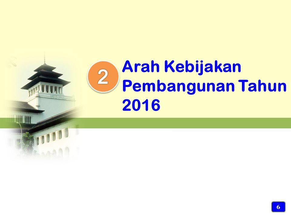 Arah Kebijakan Pembangunan Tahun 2016 6