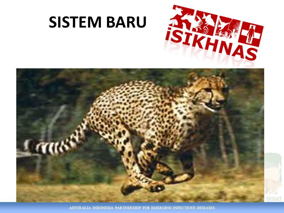 AUSTRALIA INDONESIA PARTNERSHIP FOR EMERGING INFECTIOUS DISEASES SISTEM YANG ADA PUSAT REGION PROVINSI KABUPATEN