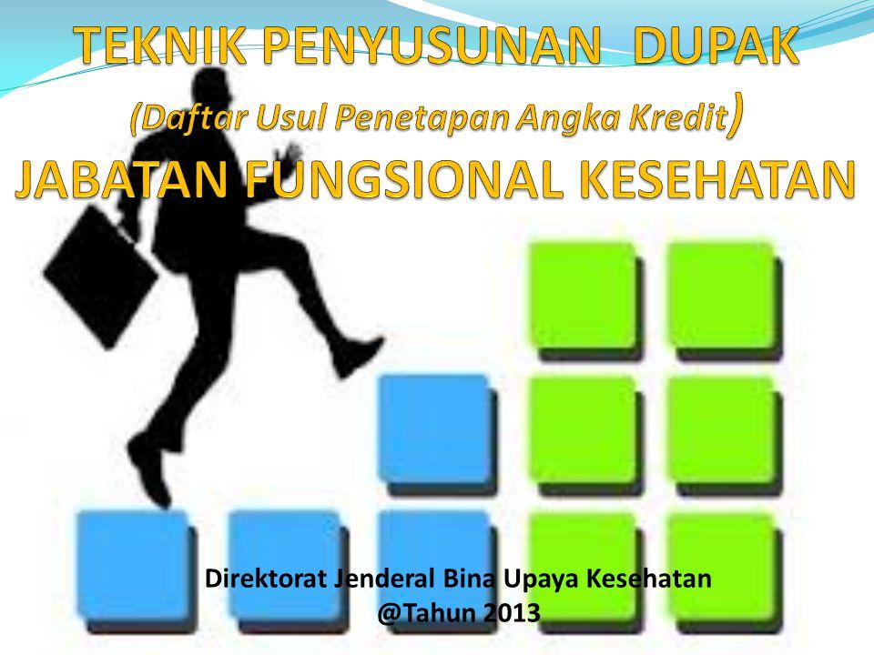 Direktorat Jenderal Bina Upaya Kesehatan @Tahun 2013