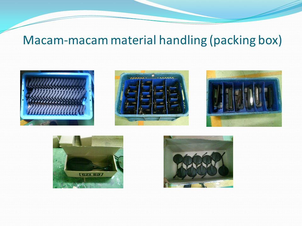 Macam-macam material handling (packing box)