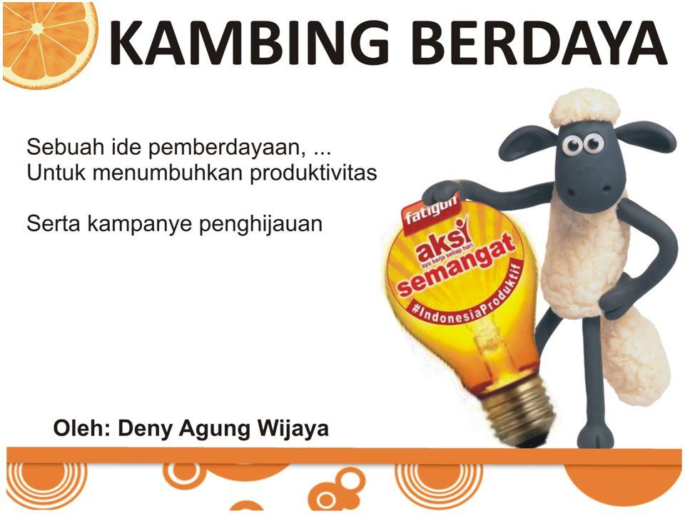 Sebuah Revolusi Investasi budidaya kambing, yang berdaya guna, bernilai ibadah dan tentunya bisnis yang menjanjikan bagi Sebuah Keluarga Prasejahtera Latar belakang Budidaya kambing masih menjadi andalan masyarakat desa, Mengapa.