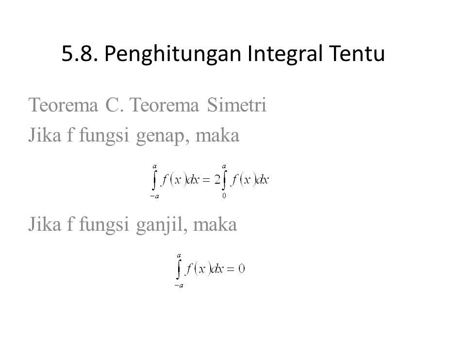 5.8.Penghitungan Integral Tentu Teorema C.