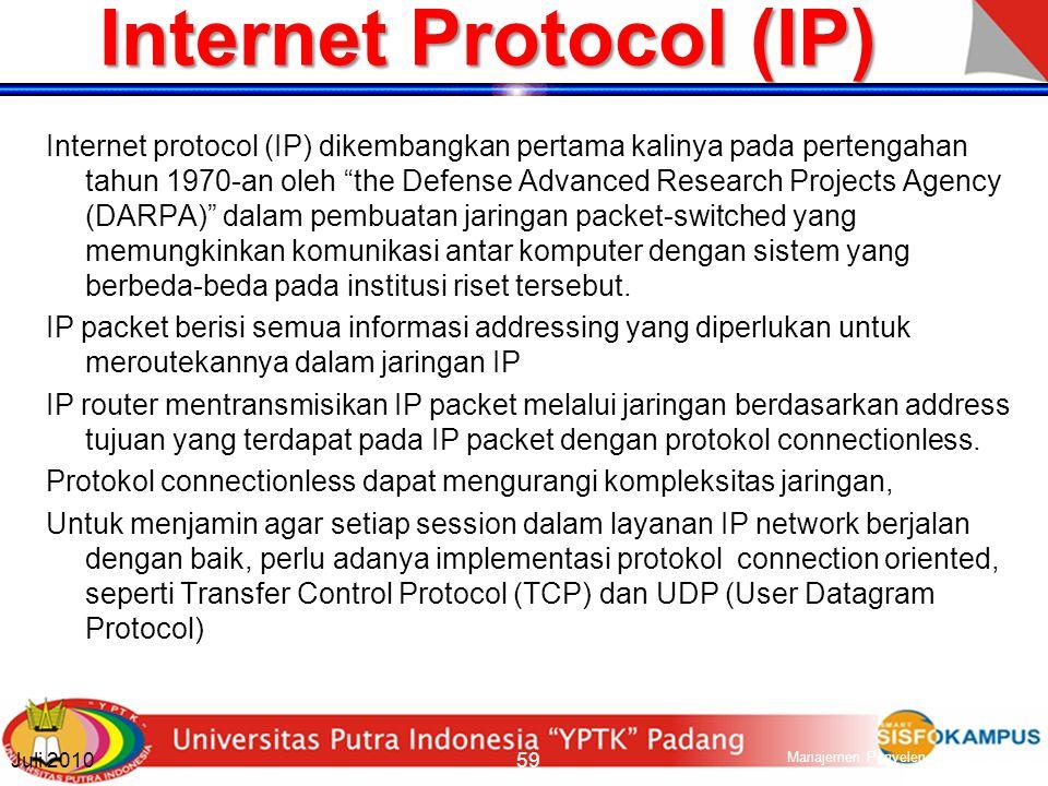 The Internet Perkembangan internet merupakan hal yang paling penting dalam perkembangan pada sektor ICT Pada awalnya internet digunakan terutama untuk layanan data.