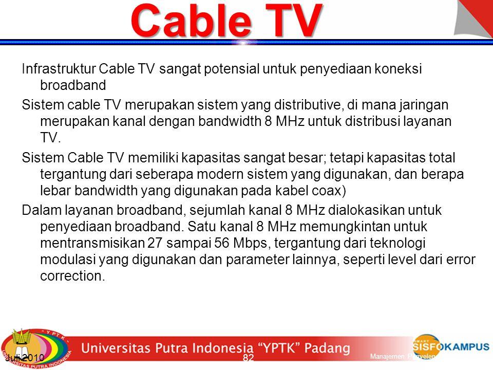 VDSL & UDSL VDSL medmungkinkan kapasitas sekitar 52 Mbps (lebih tinggi dari ADSL family).
