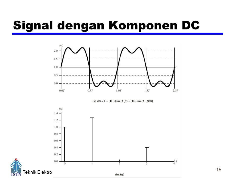 Teknik Elektro – Kampus Duren tiga Komunikasi Data 15 Signal dengan Komponen DC