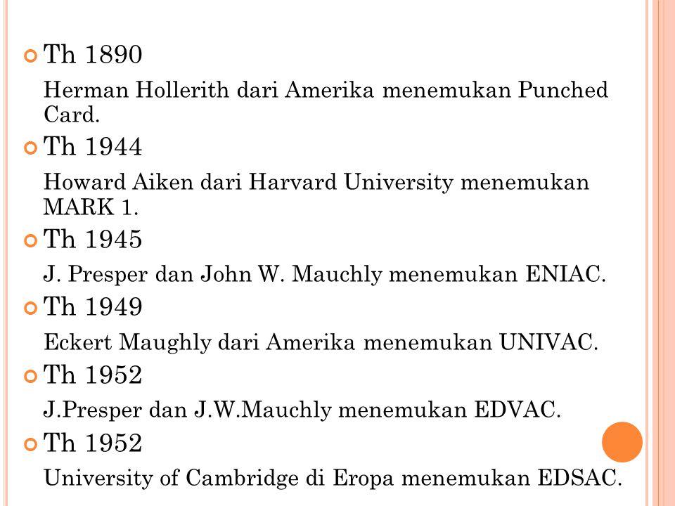 E RA S ETELAH T H.1940 I.