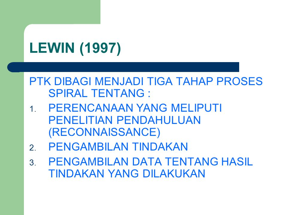 PENGERTIAN TINDAKAN KELAS HOPKIN (1993 : 1) TINDAKAN YANG DIAMBIL GURU UNTUK MENINGKATKAN DIRINYA ATAU TEMAN SEJAWATNYA UNTUK MENGUJI ASUMSI- ASUMSI TEORI PENDIDIKAN DI DALAM PRAKTEK, ATAU MEMPUNYAI MAKNA SEBAGAI EVALUASI DAN IMPLEMENTASI KESELURUHAN PRIORITAS SEKOLAH.