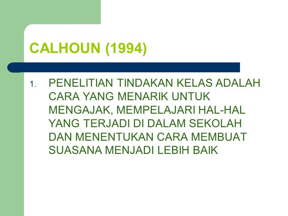 LEWIN (1997) PTK DIBAGI MENJADI TIGA TAHAP PROSES SPIRAL TENTANG : 1.