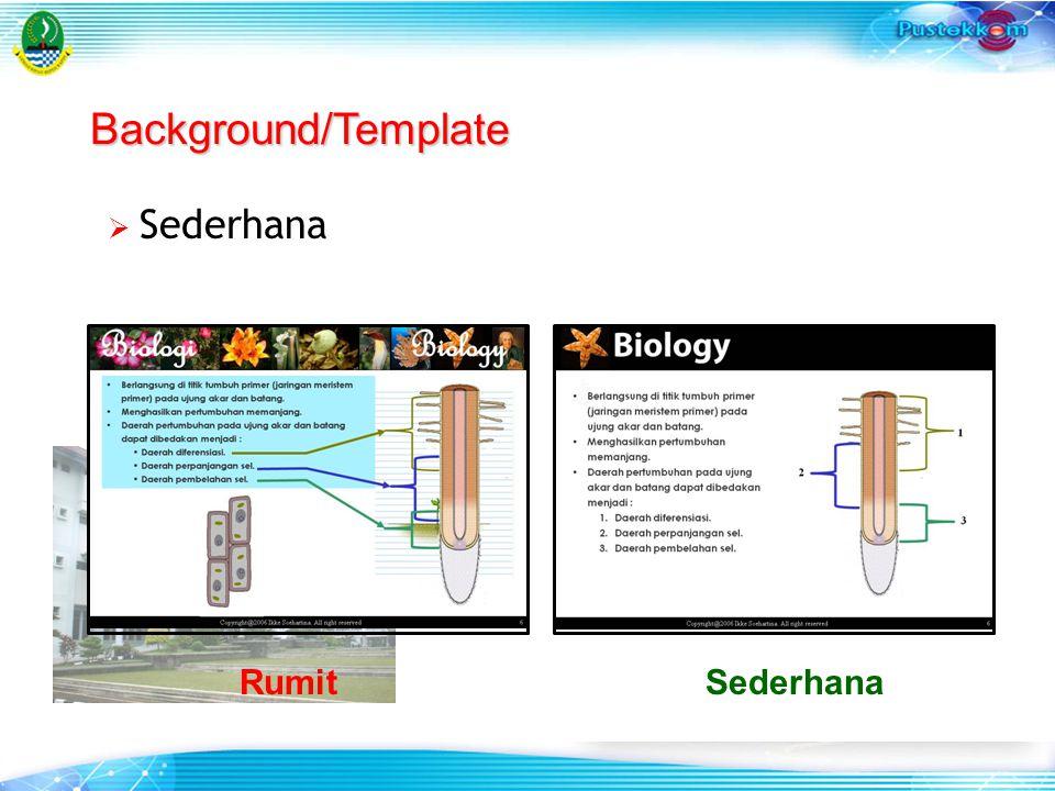  Sederhana Background/Template RumitSederhana