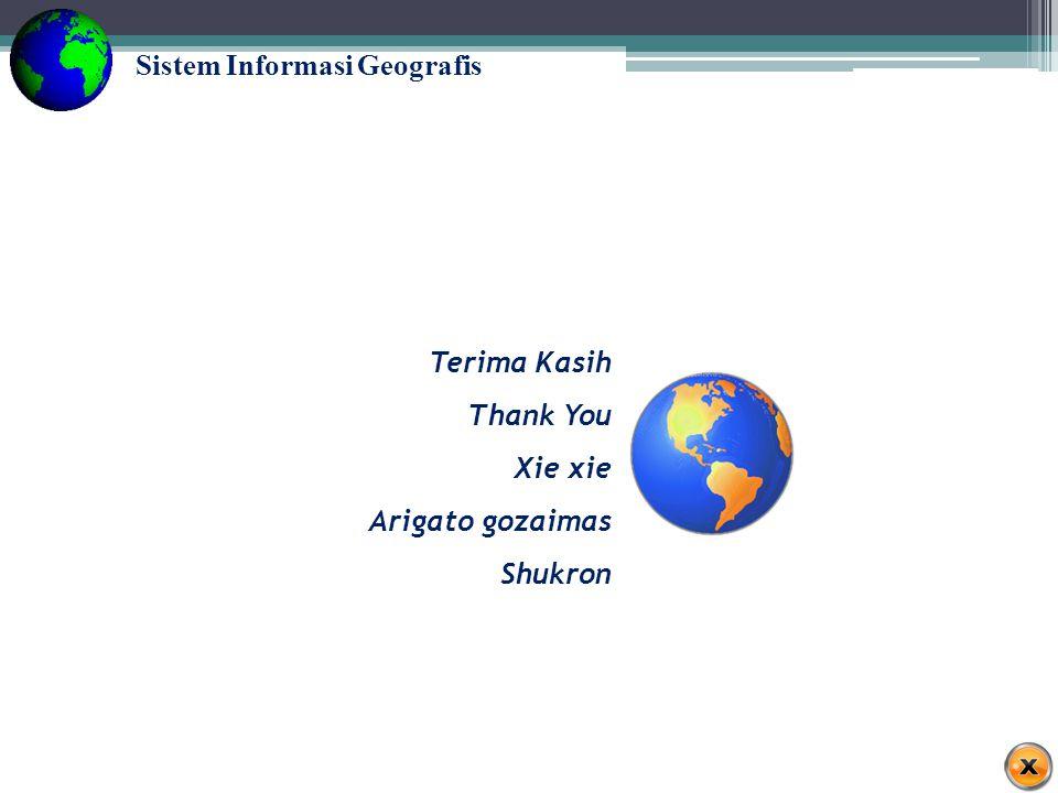 Sistem Informasi Geografis Tugas Kelompok Buatlah kelompok terdiri dari 3-4 orang.