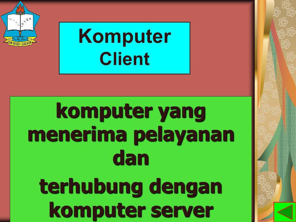 MANFAAT JARINGAN KOMPUTER a.Berbagi perangkat keras atau sharing resources b.Sebagai media komunikasi c.Integrasi data d.Keamanan data e.Efisiensi sumber daya