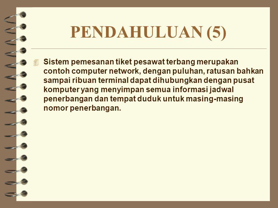 External Network 4 Disebut juga dengan long distance network.