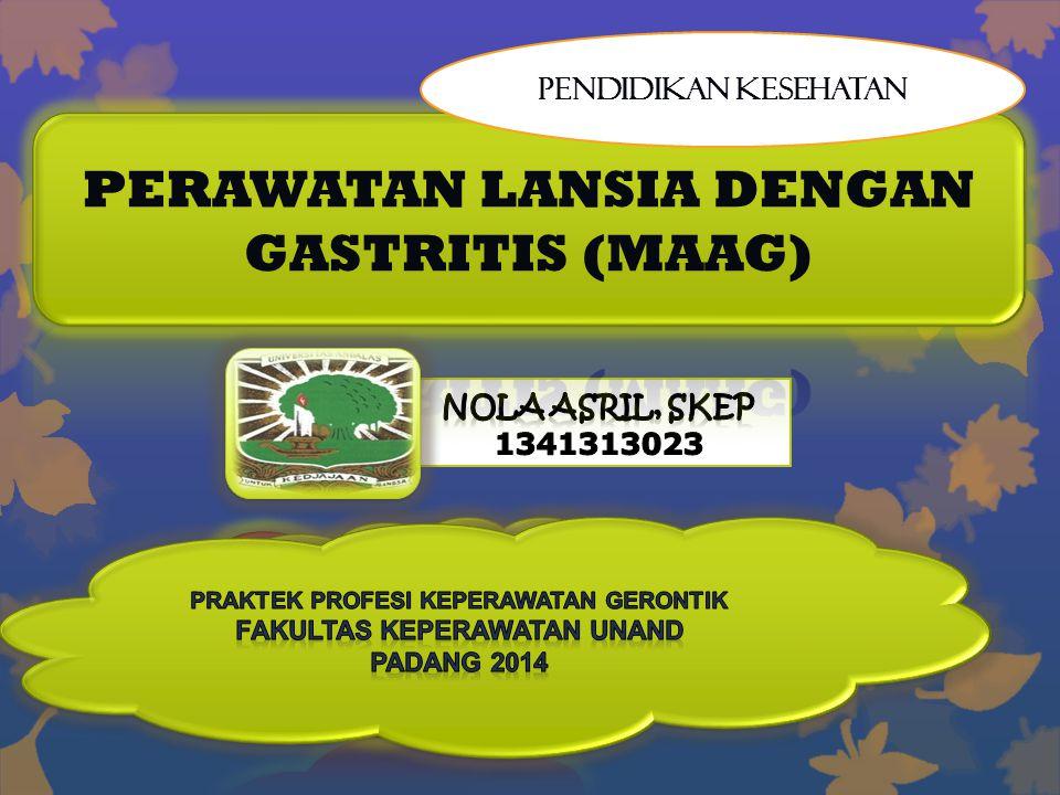 Apa itu Gastritis (Maag)..??.